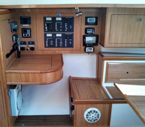 Mesa de navegação