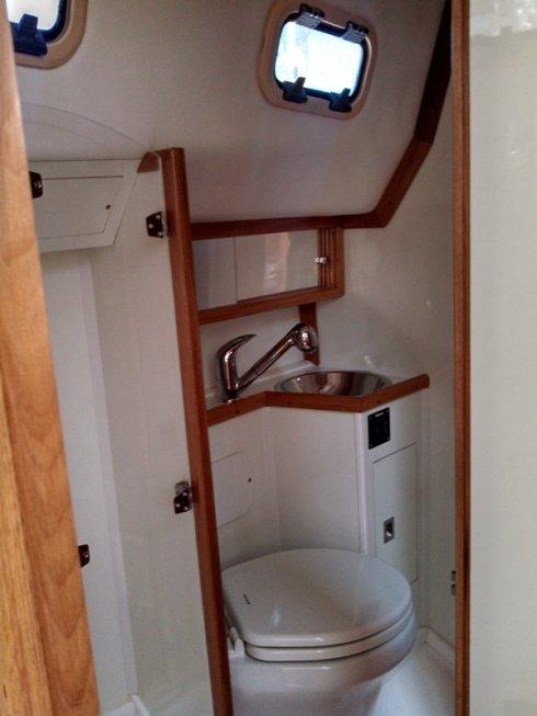 Banheiro e Box Suíte de Popa