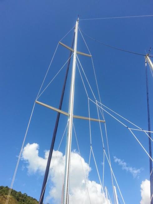 14 - mastro e estaiamento