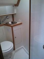 Banheiro Suíte de Popa Boreste