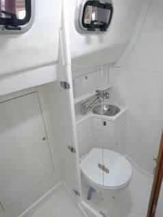 Banheiro e Box Suíte de Popa Boreste