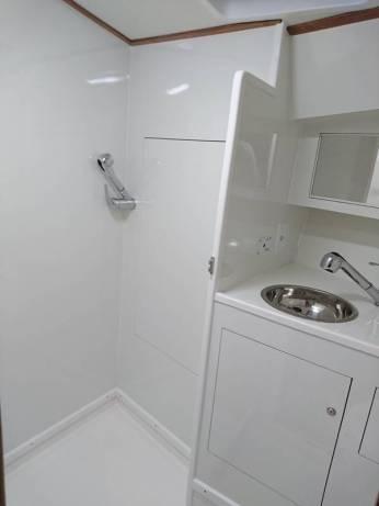 Banheiro e Box de Proa
